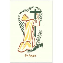 Bénédictines de Vénières - Saint Ange Carte double