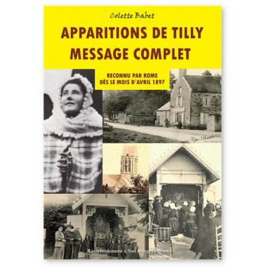 Apparitions de Tilly message complet