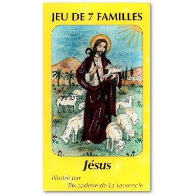 Jeu de 7 familles Jésus