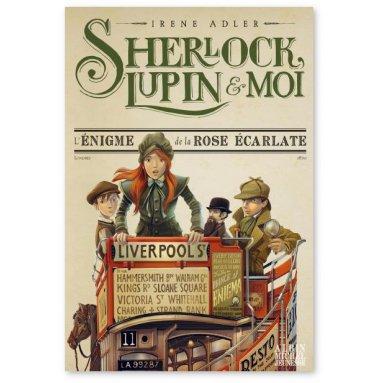 Irène Adler - Sherlock, Lupin et Moi Tome 3