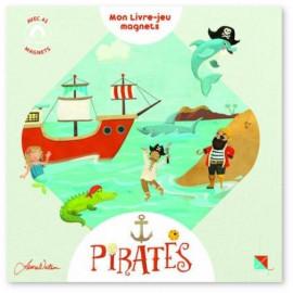 Pirates mon livre-jeu magnets