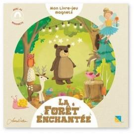 Laura Watson - La forêt enchanté Mon livre jeu magnets