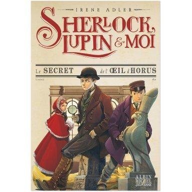 Irène Adler - Sherlock, Lupin et moi Tome 8
