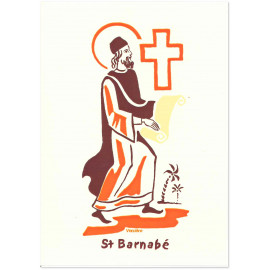 Bénédictines de Vénières - Saint Barnabé Carte double