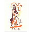 Saint Barnabé Carte double