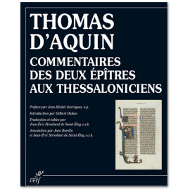 Saint Thomas d'Aquin - Commentaires des deux Epîtres aux Thessaloniciens