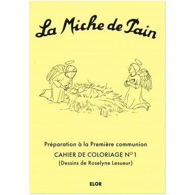 Christine de Baillencourt - La Miche de Pain carnet de coloriage 1