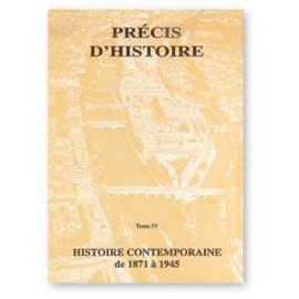 Dominicaines enseignantes de Saint-Pré - Brignolles - Précis d'histoire Tome IV