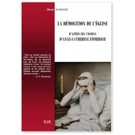 Henri Barbier - La démolition de l'Eglise d'après les visions d'Anne-Catherine Emmerich