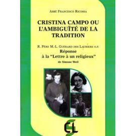 Cristina Campo ou l'ambiguité de la Tradition