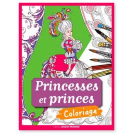 Princesses et princes Coloriage