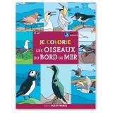 Je colorie les oiseaux du bord de mer