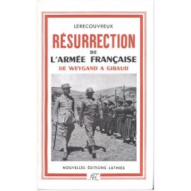 Marcel Lerecouvreux - Résurrection de l'armée française