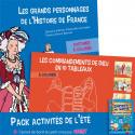 Pack activités de l'été - 2 coloriages et un cadeau