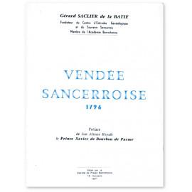 La Vendée sancerroise 1796