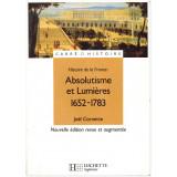 Absolutisme et lumières 1652-1783
