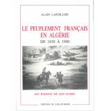 Le peuplement français en Algérie de 1830 à 1900