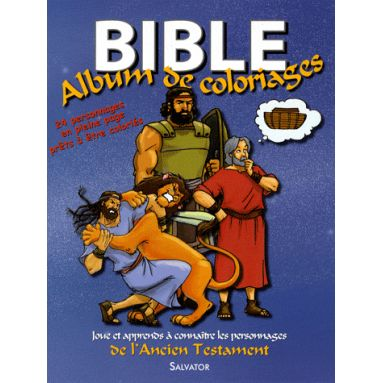 Bible - Album de coloriages