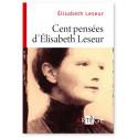 Cent pensées d'Elisabeth Leseur