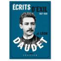 Ecrits d'exils 1927-1928