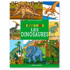 Dominique Ehrhard - Je colorie les dinosaures