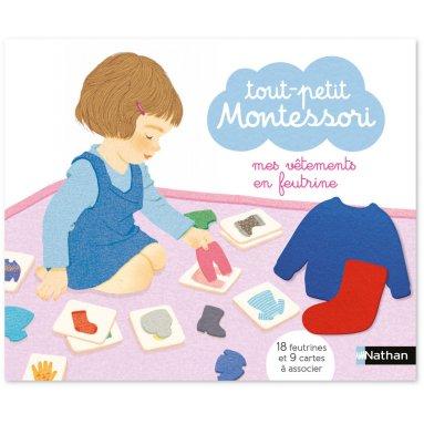 Maria Montessori - Mes vêtements en feutrine