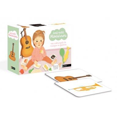 Maria Montessori - Mes instruments de musique en feutrine