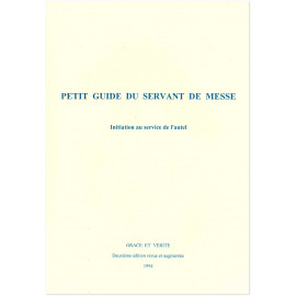 Petit Guide du Servant de Messe