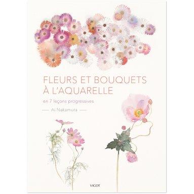 Ai Nakamura - Fleurs et bouquets à l'aquarelle
