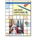 Les rois capétiens - Mots fléchés autour de la France 1