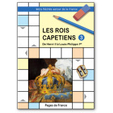 Les rois capétiens - Mots fléchés autour de la France 3