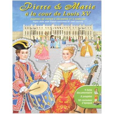Jean-Luc Cherrier - Pierre et Marie à la cour de Louis XV