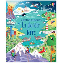 Le grand livre des labyrinthes - La planète Terre