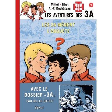 André-Paul Duchâteau - Les aventures des 3A - Tome 9