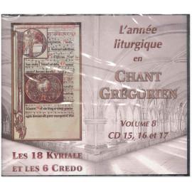 Schola Bellarmina - L'Année liturgique en Chant Grégorien - Volume 8