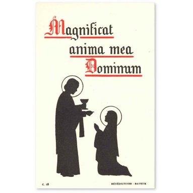 Bénédictines de Bayeux - Magnificat anima mea Dominum - c18