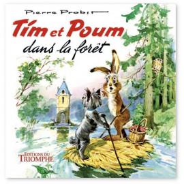 Tim et Poum dans la forêt