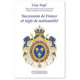 Guy Augé - Succession de France et règle de nationalité
