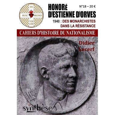 Didier Lecerf - Cahiers d'histoire du nationalisme N°18
