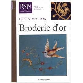 Helen McCook - Broderie d'or