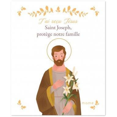 Sabine du Mesnil - Saint Joseph protège notre famille