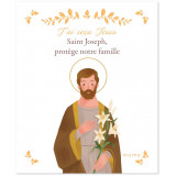 Saint Joseph protège notre famille