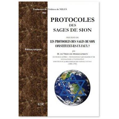 Sergueï Nilus - Protocoles des Sages de Sion