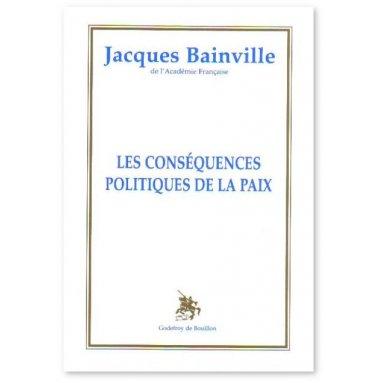 Les conséquences politiques de la paix