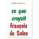 Ce que croyait François de Sales