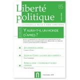 Liberté politique N°85 -