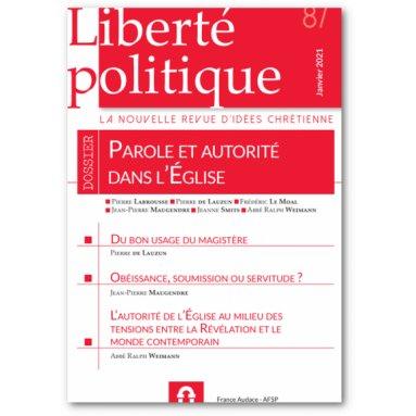 Liberté Politique - Liberté politique N°87