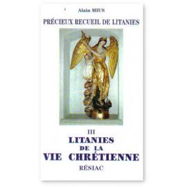 Précieux recueil de litanies