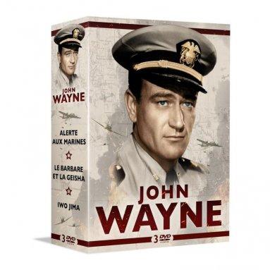 John Wayne - 3 grands films de guerre et d'aventure