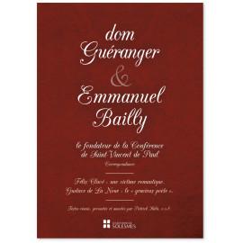 Dom Patrick Hala - Dom Guéranger & Emmanuel Bailly